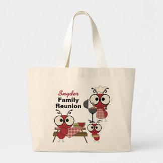 Custom Family Reunion Tote Bag