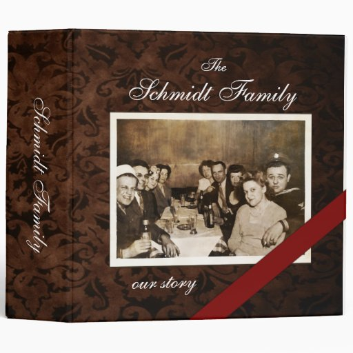 "Custom Family Story Photo (unframed) 2"" Binder"
