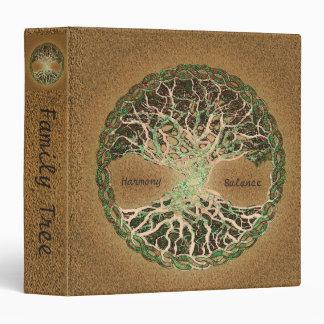 Custom Family Tree Scrapbook 3 Ring Binder
