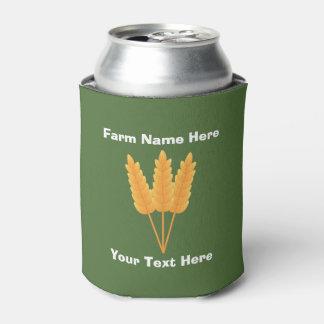 Custom Farm Beer Can Cooler
