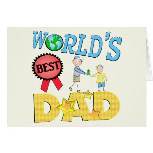 Custom Father's Day / Dad Birthday Greeting Card