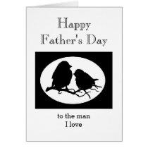 Custom Father's Day Sweetheart Man I love Card