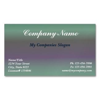 Custom Fig Gradient Magnetic Business Card