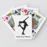 Custom Figure Skater Gifts Bicycle Playing Cards
