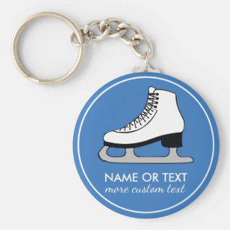 Custom Figure Skating Team Skater Name Keychain