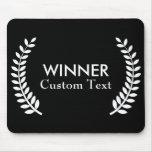 Custom Film Festival Winner Laurels Mousepad