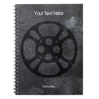 Custom Film Reel / Movie Reel Notebook