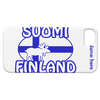 Custom Finland Moose iPhone 5 Case-Mate iPhone 5 Cover
