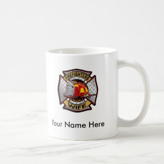 Custom Firefighter's Wife Mug