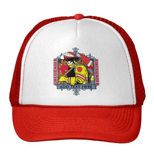 Custom Firefirefighter Trucker Hat