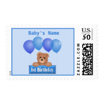 Custom First Birthday Stamp
