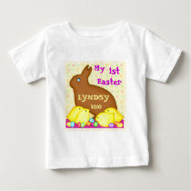 Custom First Easter Baby T-Shirt / Bodysuit