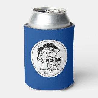 Custom Fishing Beer Cooler   Your Lake Name