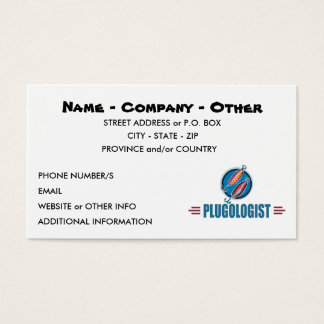 Custom Fishing Business Card