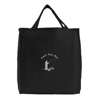 Custom Fishing Embroidered Bag