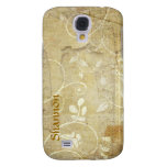 Custom Floral 3G/3GS iPhone Case Samsung Galaxy S4 Cases