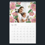 """Custom Floral Calendar<br><div class=""""desc"""">Photography © Alagich Katya: www.flickr.com/people/katya_alagich/ and provided by Creative Commons: https://creativecommons.org/licenses/by/2.0/</div>"""