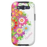 Custom Floral Samsung Galaxy S3 Vibe Case Samsung Galaxy S3 Covers