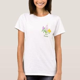 Add Company Name T Shirts T Shirt Design Printing Zazzle