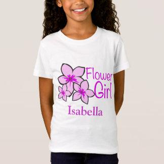 Custom Flower Girl T-Shirt