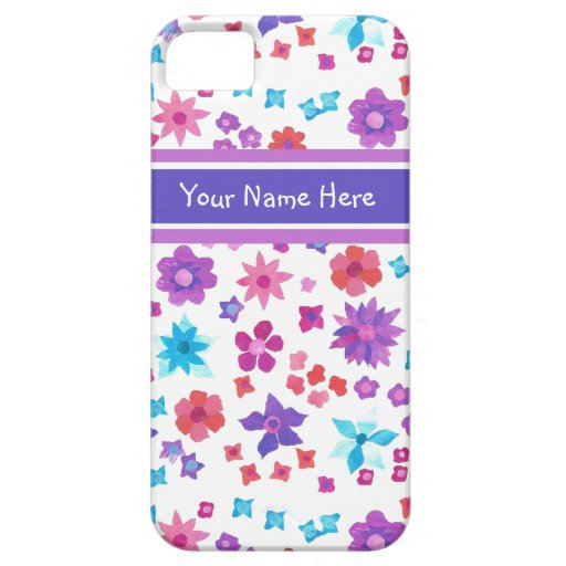Custom Flower-Power Iphone 5 CaseMate Barely There iPhone 5/5S Covers