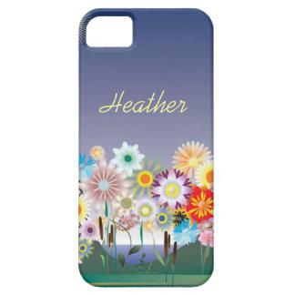 Custom Flowering Lavender iPhone 5 Case