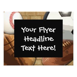 Custom Flyer, Sports Theme Flyer
