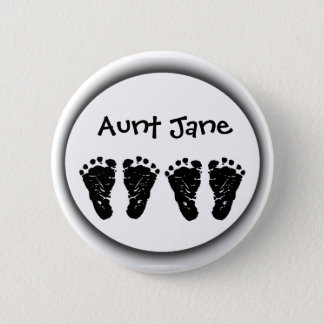 Custom Foot Prints Button