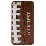 Custom Football Cell Phone Barely There iPhone 6 Plus Case