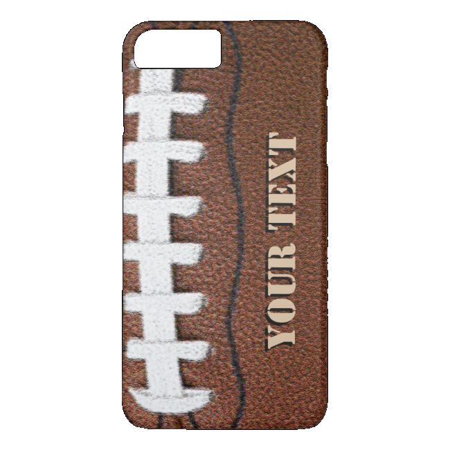 Custom Football Cell Phone iPhone 7 Plus Case