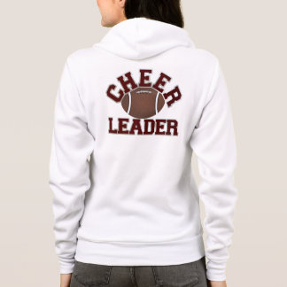 Custom Football Cheerleader's Hoodie