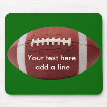 Custom Football Mousepad