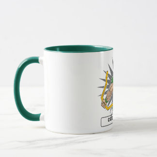 Custom Football Player Green Mug