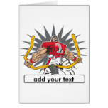 Custom Football Player Red Card
