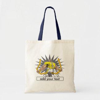 Custom Football Player Yellow Bag