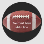 Custom Football Stickers