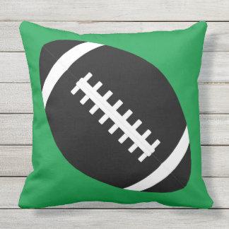 Custom Football Team Color Outdoor Pillow Cushion
