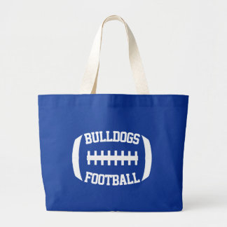 Custom Football Team Name or Text Sports Mom Tote