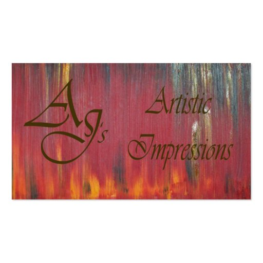 Custom For Andrew Profile Card Double-Sided Standard Business Cards (Pack Of 100)