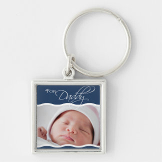 Custom - For Daddy Keychain