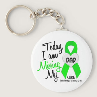 Custom For Olivia Missing My Dad Lymphoma Keychain