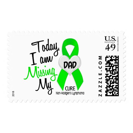 Custom For Olivia Missing My Dad Lymphoma Stamps
