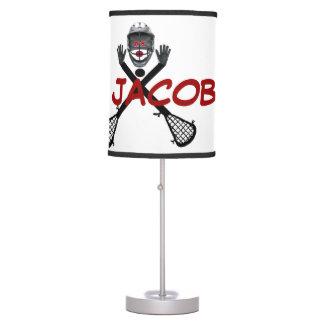 Custom For The Love of Lacrosse Desk Lamp