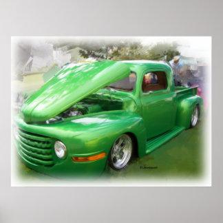 Custom Ford Truck Poster