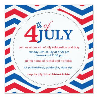 Custom fourth of july 4th july card