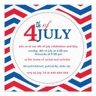 Custom fourth of july 4th july custom invite