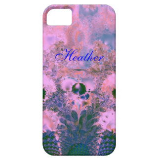 Custom Fractal Abstract iPhone 5 Barely There Case