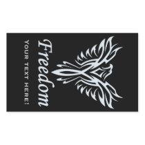 Custom Freedom Eagle stickers