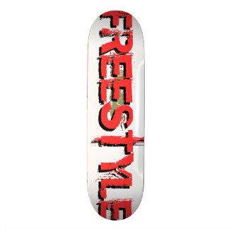 Custom Freestyle Graphic Skateboard 1 (see notes) Skate Board Decks