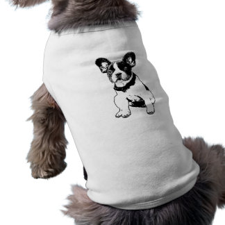 Custom French Bulldog Puppy Pick Your Color T-Shirt